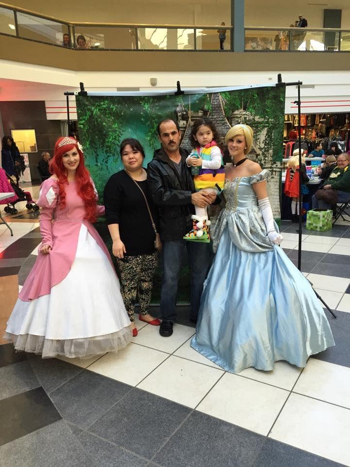 Princess with Ever After Princess Parties in Edmonton, Alberta. #princessparties #Ariel #Princesses #Princessmakeup #PrincessAurora #Anna #Elsa #birthdayparties #princessbirthdayparty