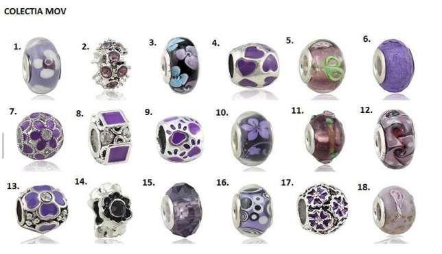 4+2Gratis Charm,talisman tip Pandora,lant de siguranta,clips,bratari Bucuresti - imagine 2