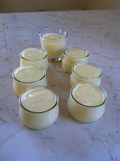 crème à la vanille (thermomix)
