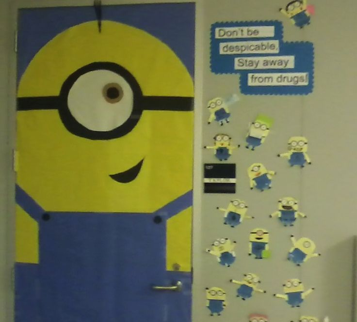 The 25+ best Minion door ideas on Pinterest
