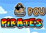 Pou Pirate Shot | Fab juegos online gratis