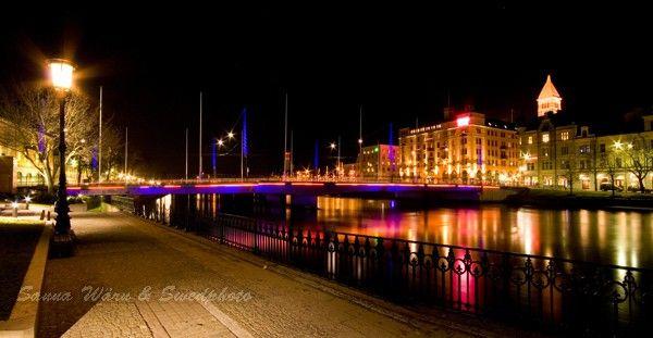 Norrköping i natt