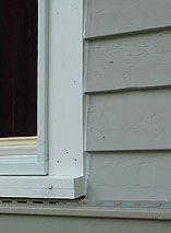 1000 ideas about window casing on pinterest baseboards - Vinyl trim around exterior windows ...