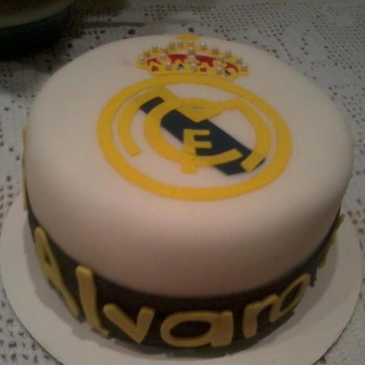 Real Madrid Cake Decorations
