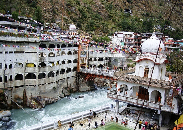 Manikaran Gurudwara, Manali  (such a beautiful and holy place, personally been there :-) )