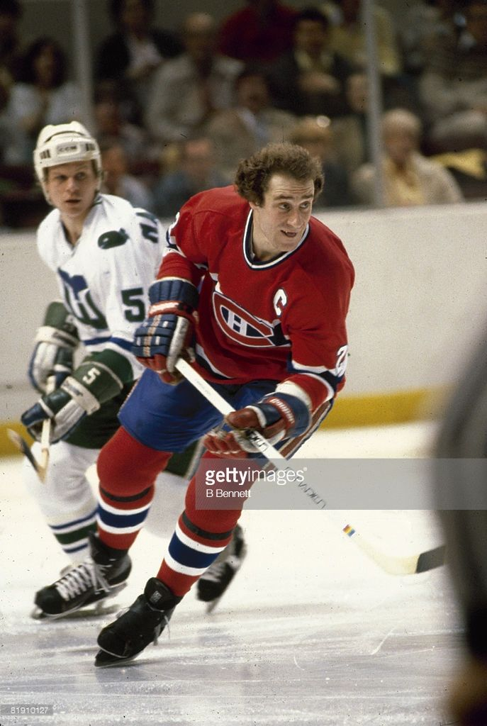 sports shoes 5da73 8e138 Canadian ice hockey player Bob Gainey of the Montreal ...