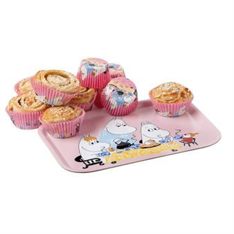 The Moomin tray Teaparty with original design of Moomin and friends by Tove Jansson is part of