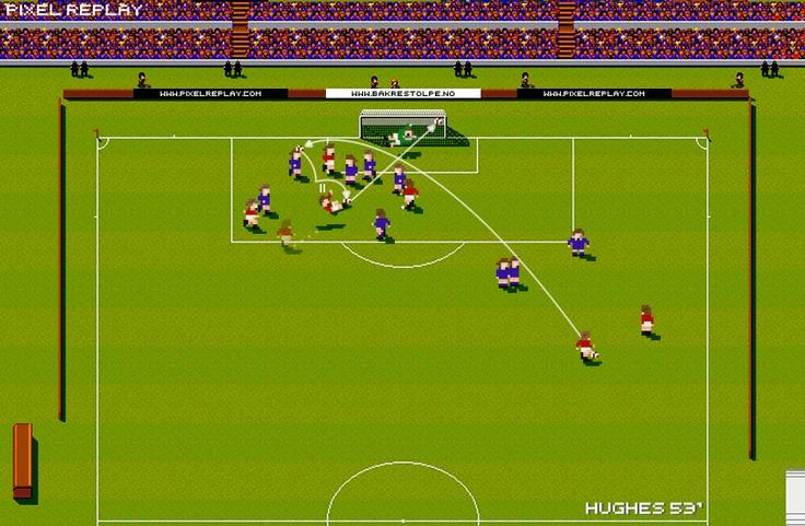Pixel Replay » Mark Hughes : Wales vs Spain 1985