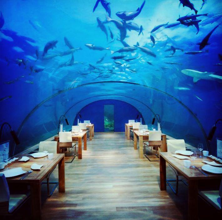 Truly Unique Restaurants Around The World: Conrad Maldives