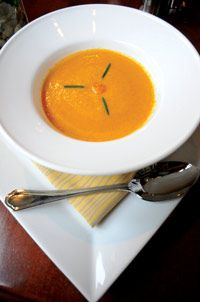 Recipe: Sungold Tomato and Rosemary Soup