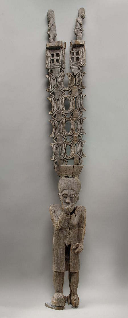 Madagascar. Standing Figure (Aloalo) with Superstructure, Mahafaly people //  The Metropolitan Museum of Art