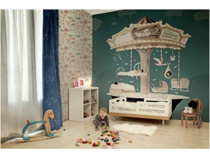 Wandgestaltung Kinderzimmer Farbe : Oltre 1000 idee su Wandgestaltung Farbe su Pinterest  Matratze 90×200
