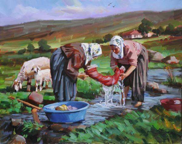 Saim Kaya - Artist Manager www.saimkaya.com600 × 475Buscar por imagen Ressam Bekir ÜSTÜN'ün Anadolu Kadını ve Köy yaşamı konulu Yağlıboya eserleri sanatseverlerle buluşuyor. Ressam - Buscar con Google