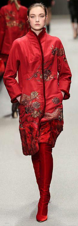 »☆Elysian-Interiors ♕Simply Divine #couture ~ red ~ shiatzy chen