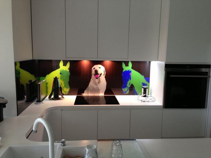 Kuchynská zástena, ušitá na mieru s vlastným dizajnom / dekorom (grafika/fotografia), #kuchynské zásteny#