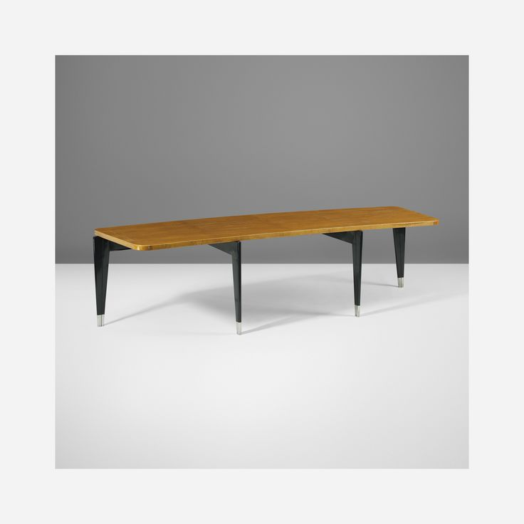 136: Jean Prouvé / rare and important Professor desk for the Université de Lille < Recherché, 18 November 2014 < Auctions | Wright