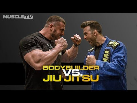 BODYBUILDER Vs. JIU JITSU FIGHTER - YouTube