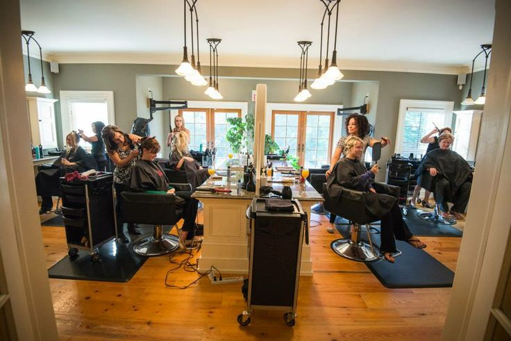 The SPA Day Retreat Hair Styling team!