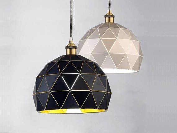 Modern Pendant Lighting Polygon pendant Light Kitchen