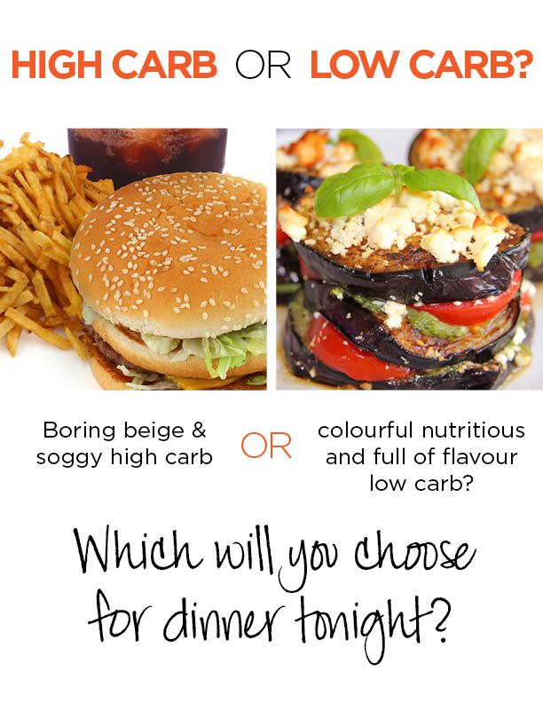 High carb or low carb?
