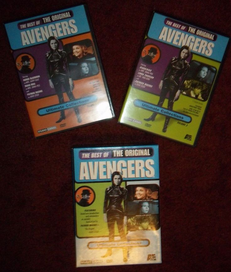 Best of the Original Avengers DVD Set Honor Blackman Patrick Macnee