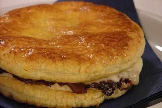 Tortini di pasta sfoglia al radicchio: Di Pasta, Puff Pastry, The Kitchen