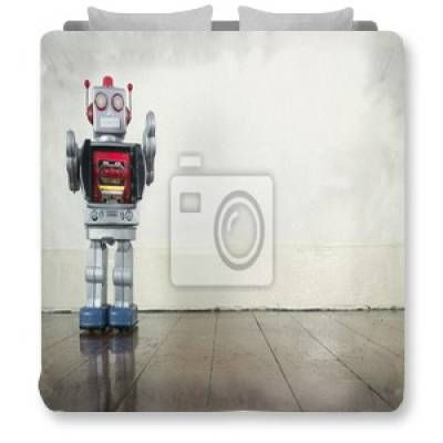17 best images about cool kids decor designs on pinterest for Robot bedroom