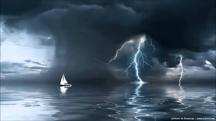 3 HOURS - Powerful Thunderstorm Sound - Relaxing White Noise - Insomnia ...