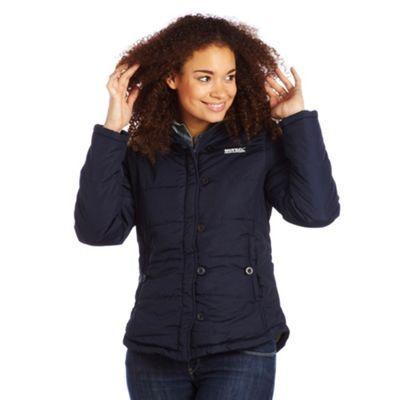 Regatta Navy wintertime jacket- at Debenhams.com
