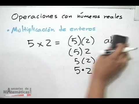 Operaciones básicas con números reales:  En este video podemos ver como hacer para encontrar el valor absoluto de un número.