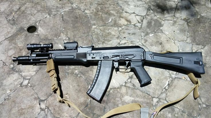 AK-105 Clone with Aimpoint T1 and Surefire M300