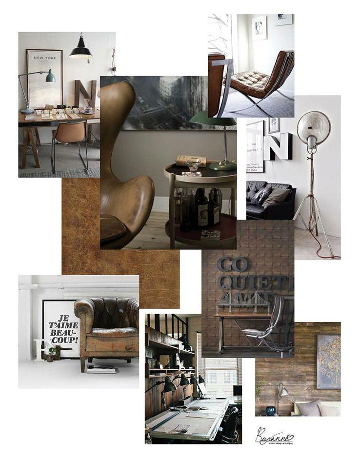 Interieurontwerp kantoor door roxanne brouwers portfolio 39 s interieur pinterest doors - Kantoor deco ...