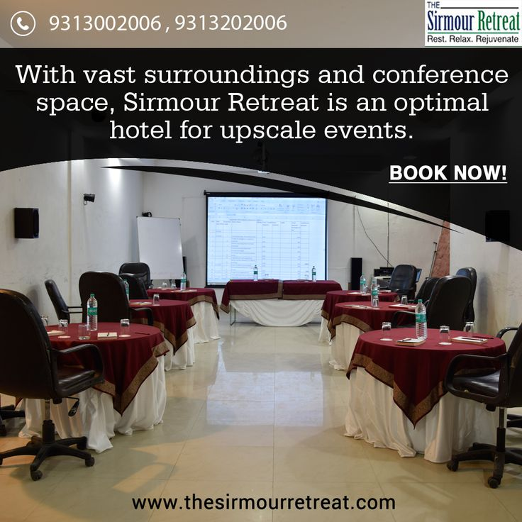 Located in Sirmour District, Nahan, in Himachal Pradesh, The Sirmour Retreat is one of the nearest hill stations to Delhi and an ideal destination for upcoming events.