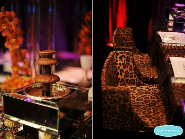 Cheetah Print Wedding Theme.Love It.