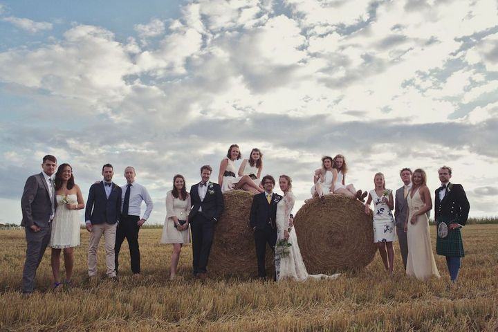 can we go take pictures on some big round hay bales? because that would be awesome.