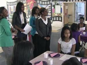 Shaw University in Raleigh has created a partnership with one Wake County school to help students learn life lessons.