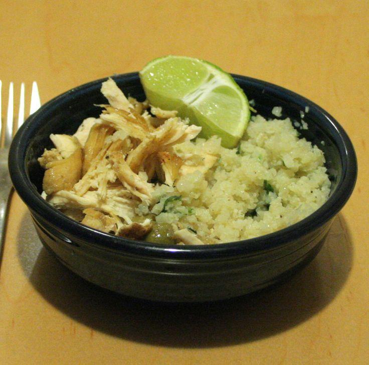 A Starch Free Cookbook: Pollo Borracho and Cilantro Lime Cauliflower Rice