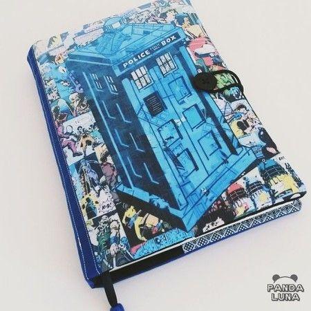 Capa para livro │ Doctor Who - Panda Luna Store