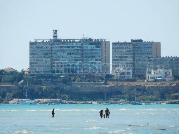 Aktau city.  http://photoflowrf.com/media.details.php?mediaID=1346  #aktau  #beacon #lighthouse #актау #дом #маяк #beach #caspian #sea