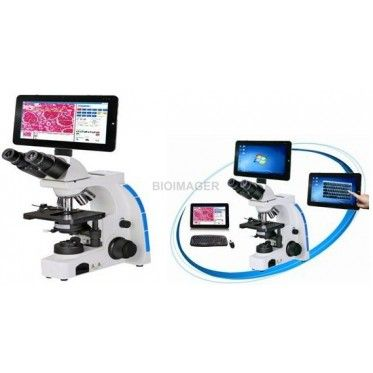 BUM265A Digital Biological Microscope with Android LCD