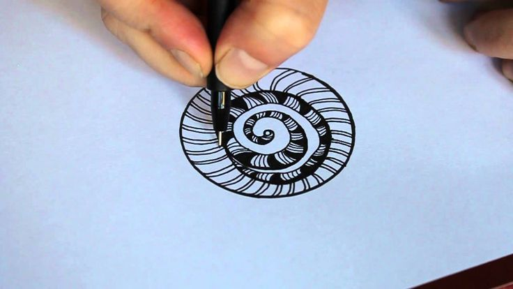How to draw a basic zentangle circular design. Perfect for beginners. Music: The Moonlight Sonata by Beethoven. For more doodles and tangles visit: http://ze...