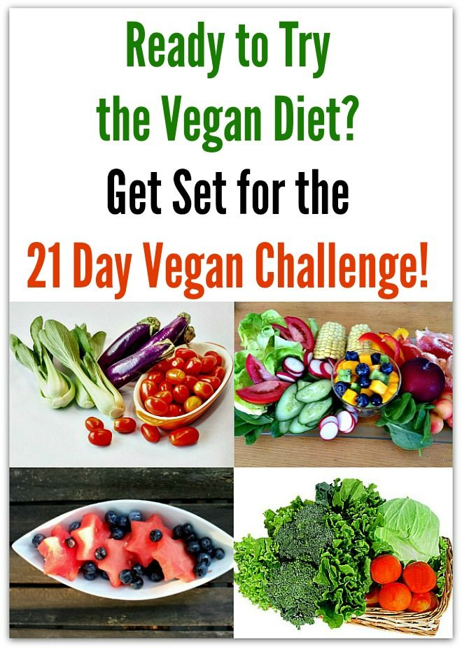 Ready to Try the Vegan Diet Get Set for the 21 Day Vegan Challenge!