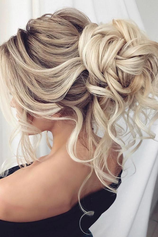 Cool Haircuts For Long Hair High Updos For Medium Hair Hair Up Do Styles 20190426 Hair Styles Messy Hair Updo Long Hair Styles