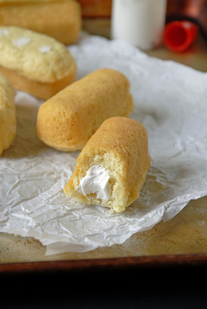 Homemade Twinkies with Whipped Coconut Cream Filling / The Frosted Vegan