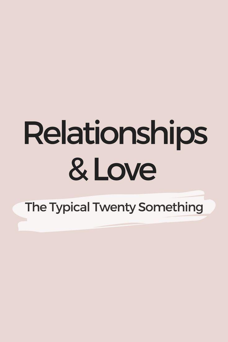 20 something dating advice