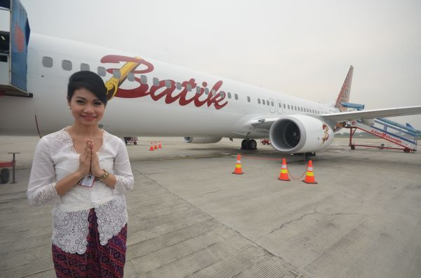 Batik Air terbang perdana ke Manado 3 Mei 2013