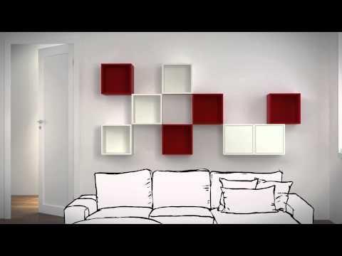 VALJE vægskabe - YouTube