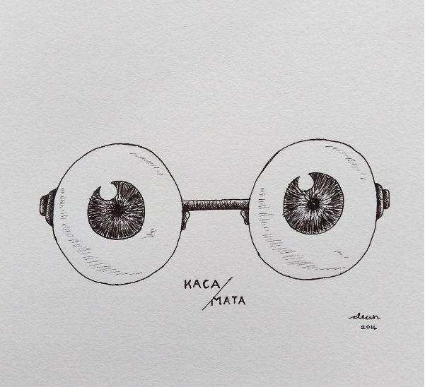 Illustration - Kaca/Mata