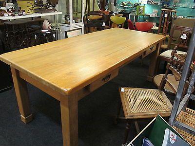 Kchentisch Esstisch Wohnzimmertisch Tisch Eiche Massiv Riesig EUR295