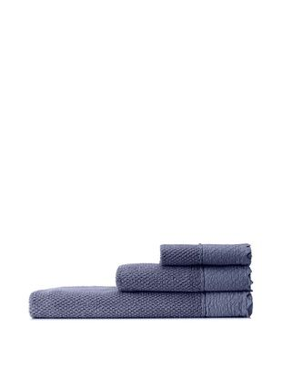 70% OFF Mili Designs NYC Stonewash Towel Set, Denim Blue